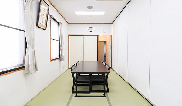近江八幡公益会館和室「つばき」